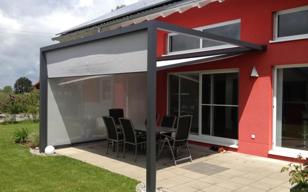 Fenster- und Fassadenmarkisen